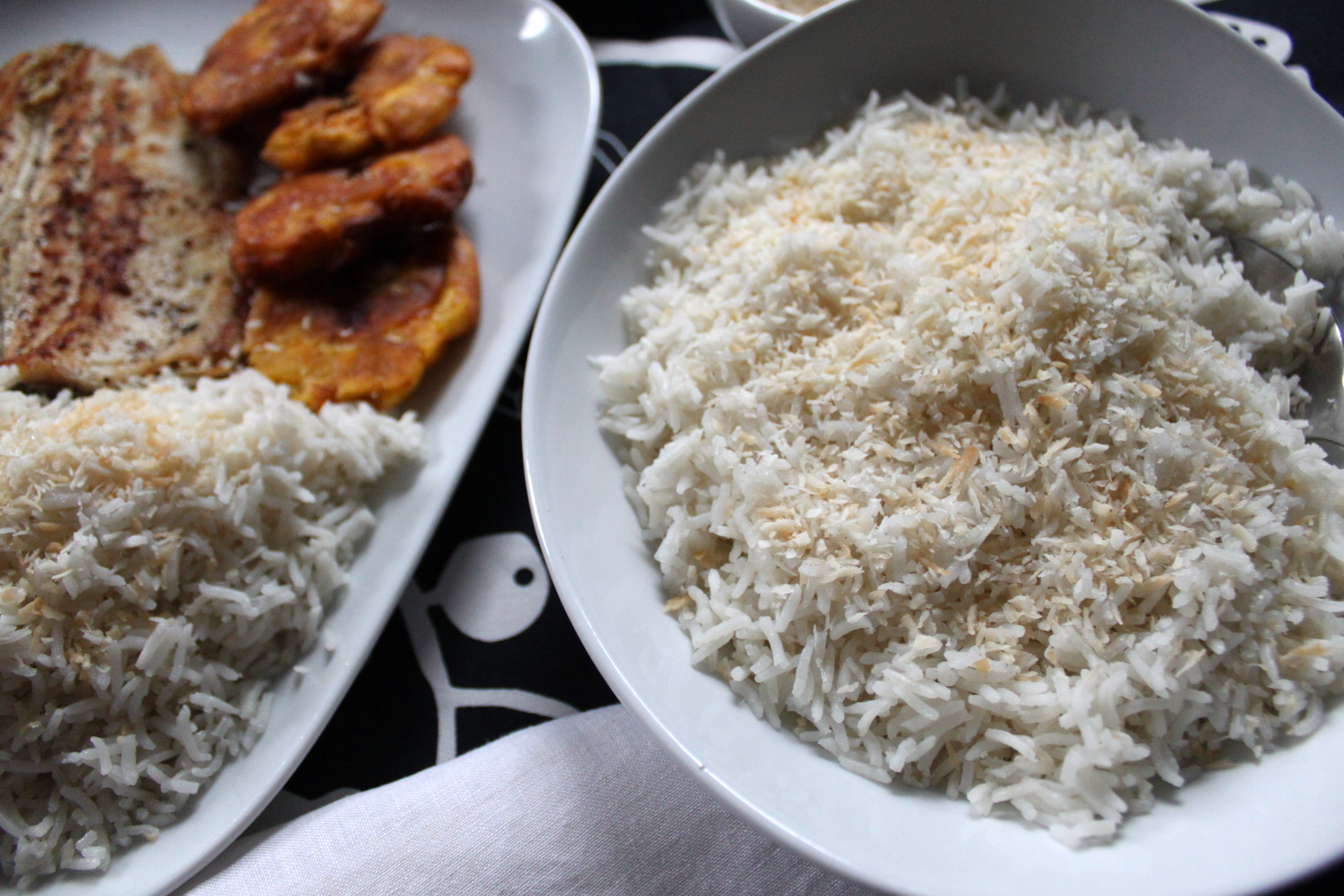 Arroz con Coco/Coconut Rice