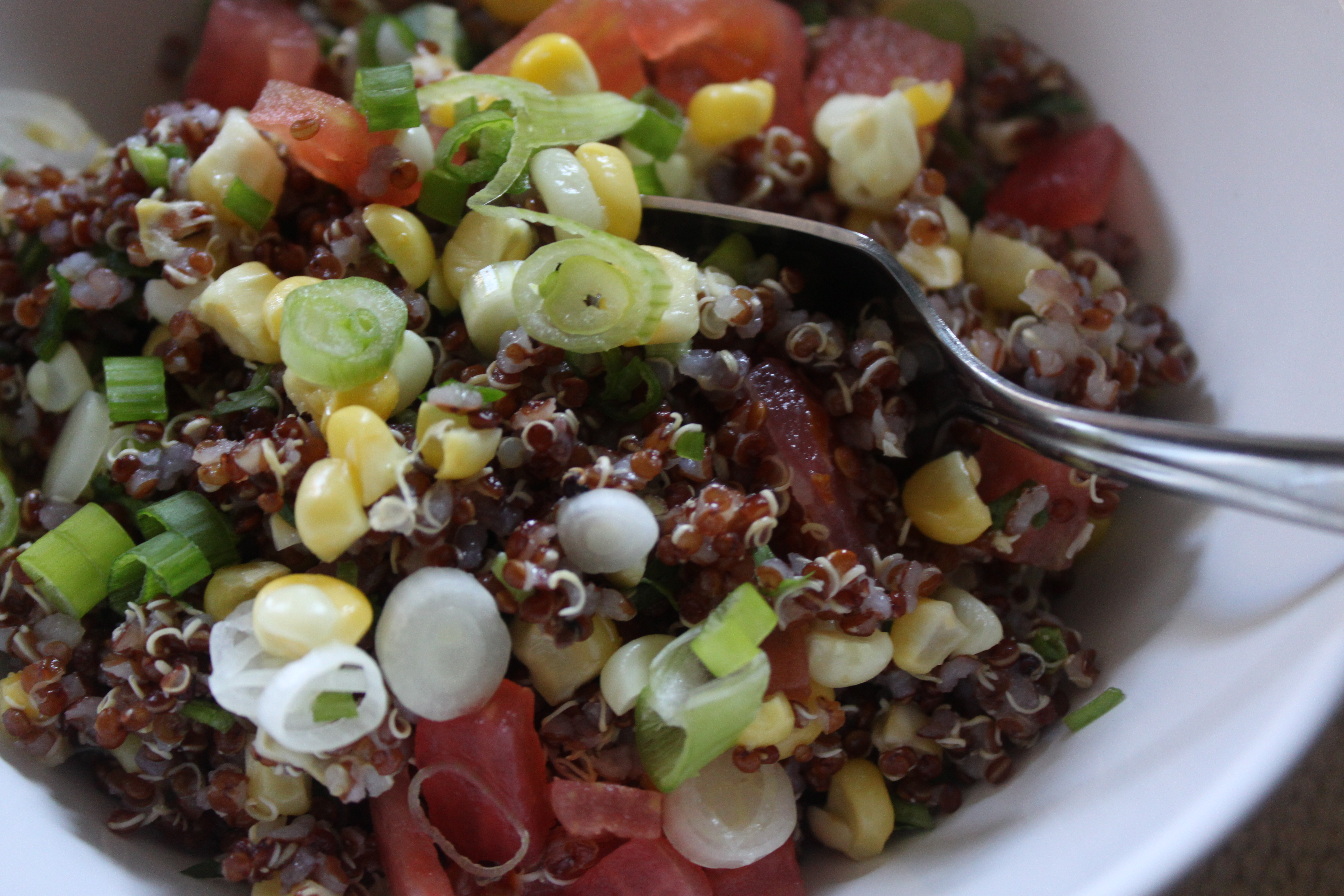 Grilled Corn and Quinoa Salad | hungry sofia