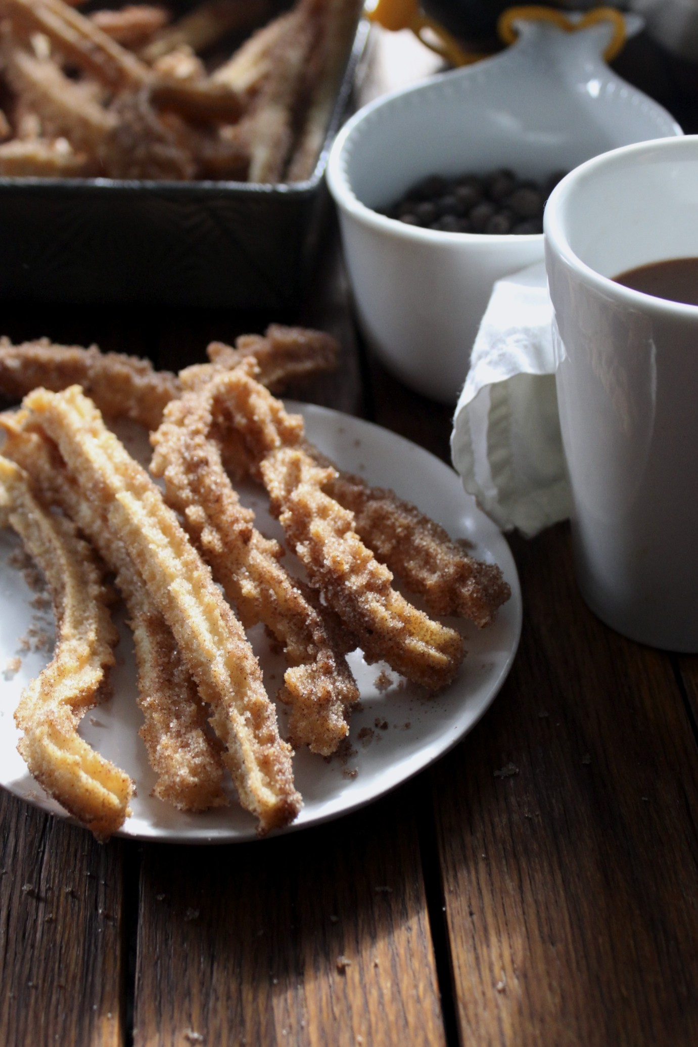 Churros con Chocolate | hungry sofia