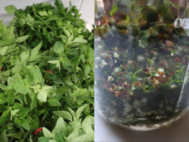 Chimichurri and Herbs