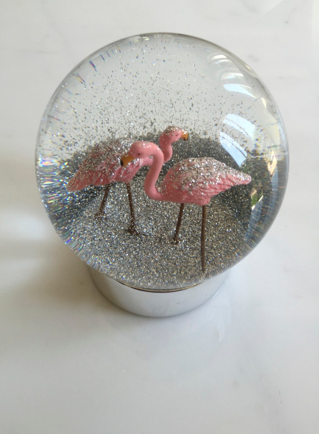 Flamingo Sno-Globe